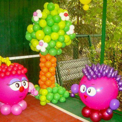 Воздушные шары для детского праздника